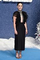 "Emelia Clarke<br /> arriving for the ""Last Christmas"" Premiere at the BFI Southbank, London.<br /> <br /> ©Ash Knotek  D3531 11/11/2019"