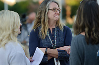 Michael McCollum<br /> 10/28/19<br /> HOPE for Victims hosted a Candlelight Vigil in honor of Emma Walker, Brooke Gregg Morris and Brittany Sherwood Eldridge October 28, 2019, at 6pm, at the Fountain in World's Fair Park, Knoxville Tennessee. This was part of Domestic Violence Awareness month.