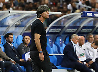 Bundestrainer Joachim Loew (Deutschland Germany)- 16.10.2018: Frankreich vs. Deutschland, 4. Spieltag UEFA Nations League, Stade de France, DISCLAIMER: DFB regulations prohibit any use of photographs as image sequences and/or quasi-video.