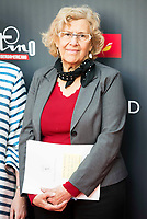 "Madrid Mayor Manuela Carmena attends to the presentation of the ""Premios Platino"" at Palacio de Cristal in Madrid. April 07, 2017. (ALTERPHOTOS/Borja B.Hojas) (NortePhoto.com)"