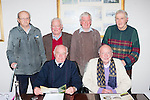 The AGM of the Killarney Deer Society was held in the Malton Hotel on Monday night front l-r: Michael Browne. Back row l-r; Ted O'Shea, Michael Leane, James O'Connor and dan Kelleher