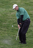 21 May, 2010:   Colorado State's Dustin Morris chips the ball on the green on hole 6 during day two of the NCAA West Regional First Round at Gold Mountain Golf Course in Bremerton, Washington.