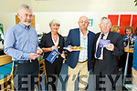 Declan O'Halloran, Harry and Theresa Freeman and Dr Tom McCormack supporting the RNLI Fundraising meal at the IT Tralee on Tuesday evening.