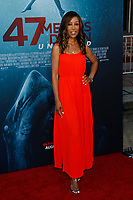 Los Angeles, CA - AUG 13:  Shawn Robinson attends the Los Angeles Premiere of '47 Meters Down: Uncaged' at Regal Village Theater on August 13 2019 in Los Angeles CA. Credit: CraSH/imageSPACE/MediaPunch
