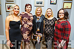 Clare and Nora Fealey (Killorglin), Christina Curtin (Tralee), Selina Looney (Killarney) and AnnMarie Fealey (Killorglin) attending the Kerry Ladies Award Evening in the Rose Hotel on Saturday.