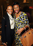 Deli Cole and Shavonnah Roberts Schreiber at the Grand Opening Cocktail Reception at Miu Miu in the Houston Galleria Monday Feb. 27,2012. (Dave Rossman Photo)