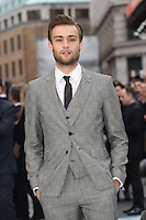 Douglas Booth at the Noah - UK film premiere held at the Odeon Leicester Square, London. 31/03/2014 Picture by: Henry Harris / Featureflash