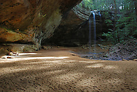 Sunlight at Ash Cave, Hocking Hills