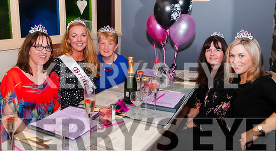 Bride To Be: Amanda Harnett, Listowel on her hen with family at Casa Mia's Restaurant on Saturday nigh last. L-R: Karen Shine, Amanda Harnett, Mairead Harnett, Sharon Holmes & Catherine Harnett.