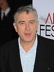 "HOLLYWOOD, CA. - November 03: Robert De Niro arrives at the AFI FEST 2009 Screening Of Miramax's ""Everbody's Fine"" on November 3, 2009 in Hollywood, California."