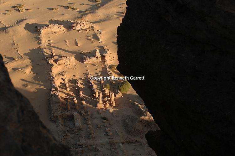 Gebel Barkal,Temple Complex, Pharaoh Taharka, Mut temple, B300, Kareima town, Nile river, mm7454. Black Pharaohs, Nubians, Sudan,25th dynasty, Late Period