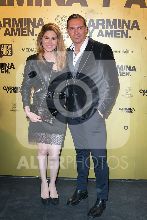 "Spanish Singer Tamara attend the Premiere of the movie ""Carmina y Amen"" at the Callao Cinema in Madrid, Spain. April 28, 2014. (ALTERPHOTOS/Carlos Dafonte)"