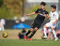 Irvine, CA - November 02, 2019: U.S. Soccer Development Academy Boys' U-13 Fall Western Regional Showcase at Great Park.