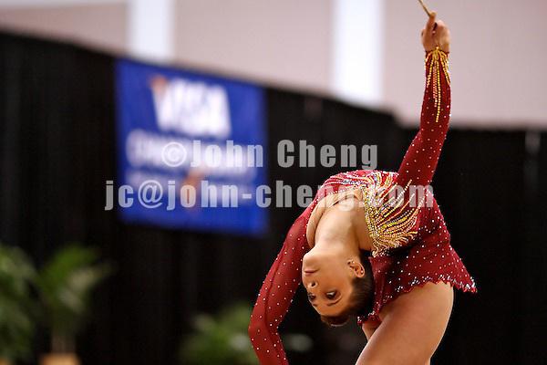 Photo by John Cheng - VISA Championships 2007 in San Jose, CA.RhythmicsMarmer