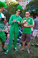 St Patrick's Day, Hyde Park Sydney 2013
