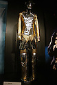 May 12, 2010 - Tokyo, Japan - King of Pop's 'History Tour' costumes is on display at the 'Michael Jackson - The official Lifetime Collection' exhibition, in a hall at the foot of Tokyo Tower, Tokyo, Japan, on May 12, 2010. More than 280 items of Michael Jackson memorabilia including crystal-studded gloves and favorite 1967 Rolls Royce are on display until July 4.  (c) MICHAEL JACKSON ESTATE.
