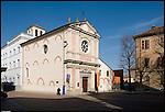 La Chiesa di Santa Caterina in piazza Vittorio Veneto.