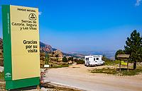 Spanien, Andalusien, Wohnmobil, Naturpark, Sierras de Cazorla | Spain, Andalusia, mobile van, Sierras de Cazorla