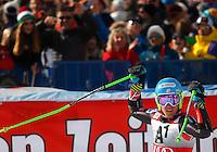 SOELDEN, AUSTRIA, 27.10.2013 - COPA DO MUNDO DE ESQUI ALPINO - Ted Ligety dos Estados Unidos comemora a vitoria durante execução do Audi FIS Copa do Mundo de Esqui Alpino, corrida de slalom gigante em Soelden na Austria , neste domingo, 27. (Foto: Primoz Jeroncic / Pixathlon / Brazil Photo Press).
