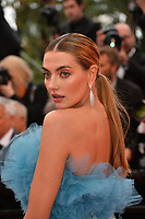 "CANNES, FRANCE. May 19, 2019: Alina Baikova  at the gala premiere for ""A Hidden Life"" at the Festival de Cannes.<br /> Picture: Paul Smith / Featureflash"