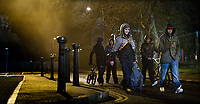 Attack the Block (2011) <br /> John Boyega, Alex Esmail, Leeon Jones, Simon Howard &amp; Franz Drameh<br /> *Filmstill - Editorial Use Only*<br /> CAP/KFS<br /> Image supplied by Capital Pictures