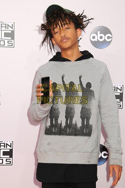 23 November 2014 - Los Angeles, California - Jaden Smith. American Music Awards 2014 - Arrivals held at Nokia Theatre LA Live. <br /> CAP/ADM/BP<br /> &copy;BP/ADM/Capital Pictures