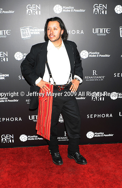 "LOS ANGELES, CA. - October 29: Carlos Ramirez attends Gen Art's 12th Annual ""Fresh Faces In Fashion"" at the Peterson Automotive Museum on October 29, 2009 in Los Angeles, California."