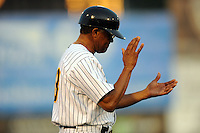 July 15, 2009:  Coach Tony Franklin during the 2009 Eastern League All-Star game at Mercer County Waterfront Park in Trenton, NJ.  Photo By David Schofield/Four Seam Images