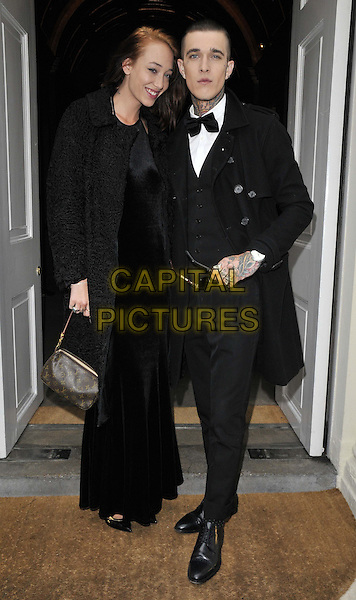 LONDON, ENGLAND - JUNE 15: Leia Contois &amp; Jimmy Q attend the Velsvoir s/s 2015 presentation &amp; party, London Colllections : Men, Sketch, Conduit St., on Sunday June 15, 2014 in London, England, UK.<br /> CAP/CAN<br /> &copy;Can Nguyen/Capital Pictures
