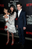 www.acepixs.com<br /> January 11, 2017  New York City<br /> <br /> Presley Smith, Malina Weissman, Louis Hynes attending Netflix&rsquo;s world premiere of Lemony Snicket&rsquo;s 'A Series of Unfortunate Events' at AMC Lincoln Square on January 11, 2017 in New York City.<br /> <br /> <br /> Credit: Kristin Callahan/ACE Pictures<br /> <br /> <br /> Tel: 646 769 0430<br /> Email: info@acepixs.com