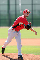 Dallas Buck, Cincinnati Reds, 2010 minor league spring training..Photo by:  Bill Mitchell/Four Seam Images.