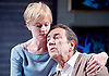Prism <br /> by Terry Johnson <br /> at Hampstead Theatre, London, Great Britain <br /> press photocall <br /> 11th September 2017 <br /> <br /> <br /> Claire Skinner as Nicola <br /> <br /> Robert Lindsay as Jack Cardiff <br /> <br /> <br /> <br /> Designed by Tim Shortall<br /> Lighting by Ben Ormerod<br /> Sound by John Leonard <br /> Casting by Suzanne Crowley and Gilly Poole <br /> <br /> <br /> Photograph by Elliott Franks <br /> Image licensed to Elliott Franks Photography Services