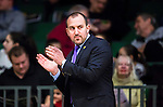S&ouml;dert&auml;lje 2015-02-03 Basket Basketligan S&ouml;dert&auml;lje Kings - Norrk&ouml;ping Dolphins :  <br /> S&ouml;dert&auml;lje Kings assisterande tr&auml;nare coach Srdjan Klinac  under matchen mellan S&ouml;dert&auml;lje Kings och Norrk&ouml;ping Dolphins <br /> (Foto: Kenta J&ouml;nsson) Nyckelord:  S&ouml;dert&auml;lje Kings SBBK T&auml;ljehallen Norrk&ouml;ping Dolphins portr&auml;tt portrait tr&auml;nare manager coach
