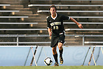 22 August 2008: Wake Forest's Evan Brown. The Wake Forest University Demon Deacons defeated the Virginia Commonwealth University Rams 2-1 at Fetzer Field in Chapel Hill, North Carolina in an NCAA Division I Men's college soccer game.
