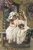CHILDREN, KINDER, NIÑOS, paintings+++++,USLGSK0005,#K#, EVERYDAY ,Sandra Kock, victorian