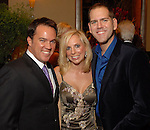 Rob Weatherford, Laura Spalding and Jeff Gremillion at the Una Notte in Italia dinner and fashion show at the InterContinental Hotel Friday Nov. 07, 2008. (Dave Rossman/For the Chronicle)