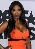 LOS ANGELES, CA, USA - JUNE 29: Actress Kenya Moore poses in the press room at the 2014 BET Awards held at Nokia Theatre L.A. Live on June 29, 2014 in Los Angeles, California, United States. (Photo by Xavier Collin/Celebrity Monitor)