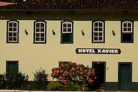 Barra Longa_MG, Brasil...Hotel Xavier, que funciona em um casaro antigo da cidade...Xavier hotel in an ancient house in the city...Foto: LEO DRUMOND / NITRO.