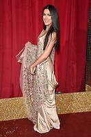 Armit Maghera<br /> arrives for the British Soap Awards 2016 at Hackney Empire, London.<br /> <br /> <br /> &copy;Ash Knotek  D3124  28/05/2016