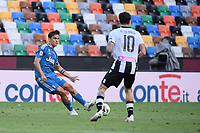 Paulo Dybala of Juventus and Rodrigo De Paul of Udinese<br /> during the Serie A football match between Udinese Calcio and Juventus FC at Friuli stadium in Udine <br />  (Italy), July 23th, 2020. Play resumes behind closed doors following the outbreak of the coronavirus disease. Photo Federico Tardito / Insidefoto