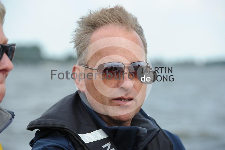 ZEILSPORT: TERHERNE: 09-08-2017, SKS Skûtsjesilen, SKS voorzitter René Nagelhout, ©foto Martin de Jong
