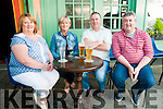 Bar-B -Que: Pictured at the John Griffin sponsored bar-b-que at Christy's Bar, Listowel in aid of Pieta House  on Saturday evening last were Elaine Holly, Ann & Denis Harris & Mike Holly