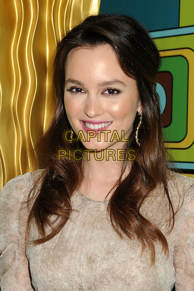LEIGHTON MEESTER.HBO 2011 Post Golden Globe Awards Party held at The Beverly Hilton Hotel, Beverly Hills, California, USA..January 16th, 2011.headshot portrait beige cream pink lipstick glow glowing skin natural make-up beauty .CAP/ADM/BP.©Byron Purvis/AdMedia/Capital Pictures.