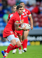 PICTURE BY CHRIS MANGNALL /SWPIX.COM...Rugby League - International Origin Match  - England v Exiles - Galpharm Stadium, Huddersfield, England  - 04/07/12... England's  Danny Brough
