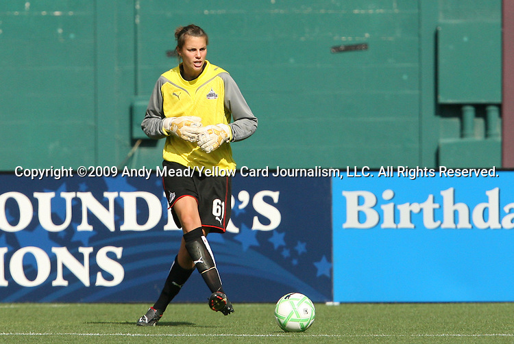 18 July 2009: Washington's Kati Jo Spisak. The Washington Freedom defeated Saint Louis Athletica 1-0 at the RFK Stadium in Washington, DC in a regular season Women's Professional Soccer game.