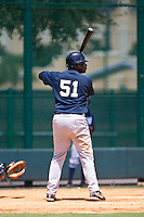7-25-2009: Christopher Smith of the Gulf Coast League Yankess during the game in Orlando, Florida. The GCL Yankees are the Rookie League affiliate of the New York Yankees. Photo By Scott Jontes/Four Seam Images