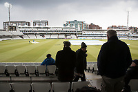 Rain stopped play at Lords during Middlesex CCC vs Lancashire CCC, Specsavers County Championship Division 2 Cricket at Lord's Cricket Ground on 13th April 2019