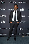 Musician Sean Stockman of Boyz II Men, arrives at the 2017 Clio Awards in The Tent at Lincoln Center in New York City on September 27, 2017.