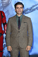 """Oscar Isaac<br /> arriving for the """"Star Wars: The Rise of Skywalker"""" premiere at the Cineworld Leicester Square, London.<br /> <br /> ©Ash Knotek  D3545 17/12/2019"""