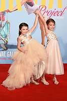 "Brooklyn Kimberly Prince and Valeria Cotto<br /> arriving for the London Film Festival 2017 screening of ""The Florida Project"" at Odeon Leicester Square, London<br /> <br /> <br /> ©Ash Knotek  D3335  13/10/2017"